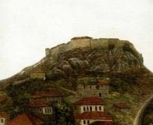 Şeker Ahmet Paşa - Kale ve Evler